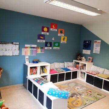 klaslokaal Huis 69 – leeshoek/vertel en luisterhoek