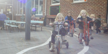 Kleuter – fietsen