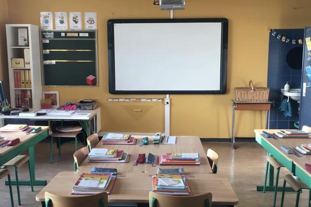 hoofdschool – klaslokaal