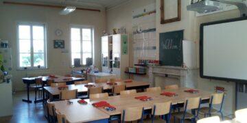 Pastorie – klaslokaal
