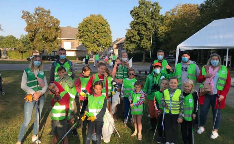 WORLD CLEANUP DAY…. Wat een opkomst!