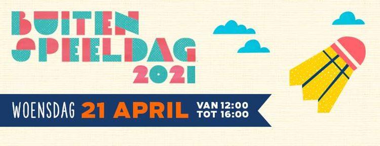 Buitenspeeldag 21 april 2021
